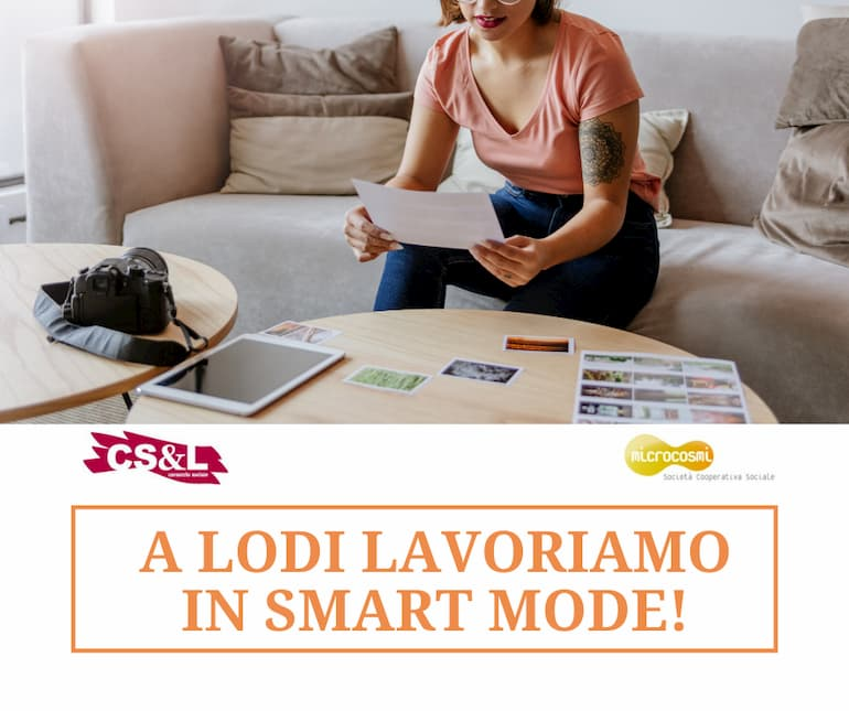 lavoriamo in smart mode!